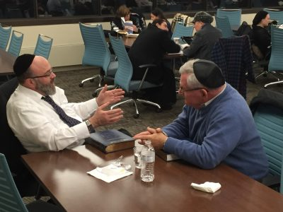 Rabbi Naphtali Bernstein and Gary Moskowitz